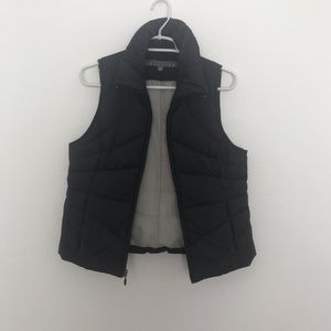 Black Puffy Vest by Reaction Kenneth Cole